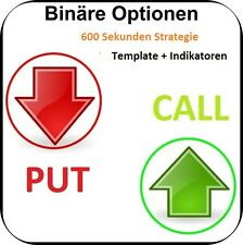 Binäre Optionen Binary Options Traden - 600 Sekunden Strategie