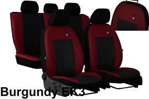 Universal-Cuero-Eco-juego-completo-de-fundas-de-asiento-de-coche-encaja-Toyota-Yaris-2005-2013