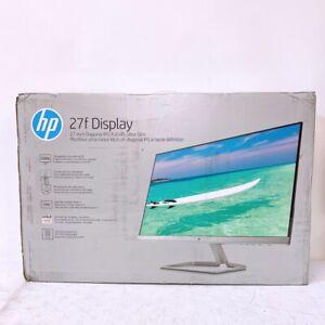 "HP 2XN62AA 27F 27"" FHD IPS LED 5ms Display Monitor BRAND NEW. SEALED."
