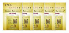 Far Infrared Hot Herbal Patch (5 Pack / 15 Patches Total) by Golden Sunshine