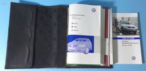 06 2006 VW Passat owners manual