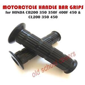 HANDLE-BAR-GRIPS-HONDA-CB200-CB250-CB350-CB350F-CB400F-CB450-CL200-CL350-CL450