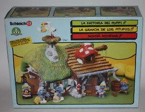 PUFFO-PUFFI-SMURF-SMURFS-40025-4-0025-Old-Farm-Fattoria-Vecchia-1A-Box-PERFETTO