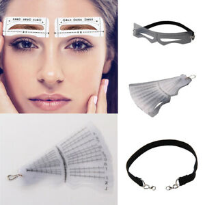 12pcs-Eyebrow-Shaping-Stencil-Template-Brow-Grooming-Makeup-Shaper-Tool-Kit