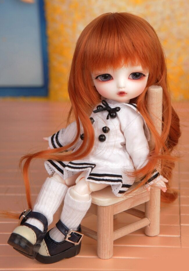 1 8 BJD Doll SD Doll Luts Tiny Delf Alice -frei Face Make UP+Eyes
