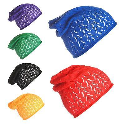 Da Uomo Donna Le Donne Traspirante Beanie Slouch 100% Cotone Cappelli Slouchie Slouch Hat-mostra Il Titolo Originale