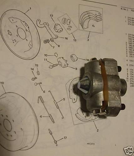x1 ** Lockheed Freins ** 1966-79 VAUXHALL VIVA HB HC frein arrière d/'ajustement
