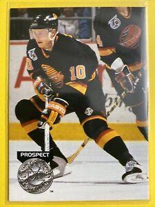 1991-92 Pro Set Platinum Prospect #272 Pavel Bure Vancouver Canucks Rookie