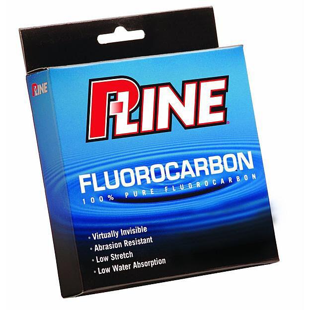 250yd #SFC250-8 Clear P-LINE 100/% Pure Fluorocarbon Fishing Line 8lb