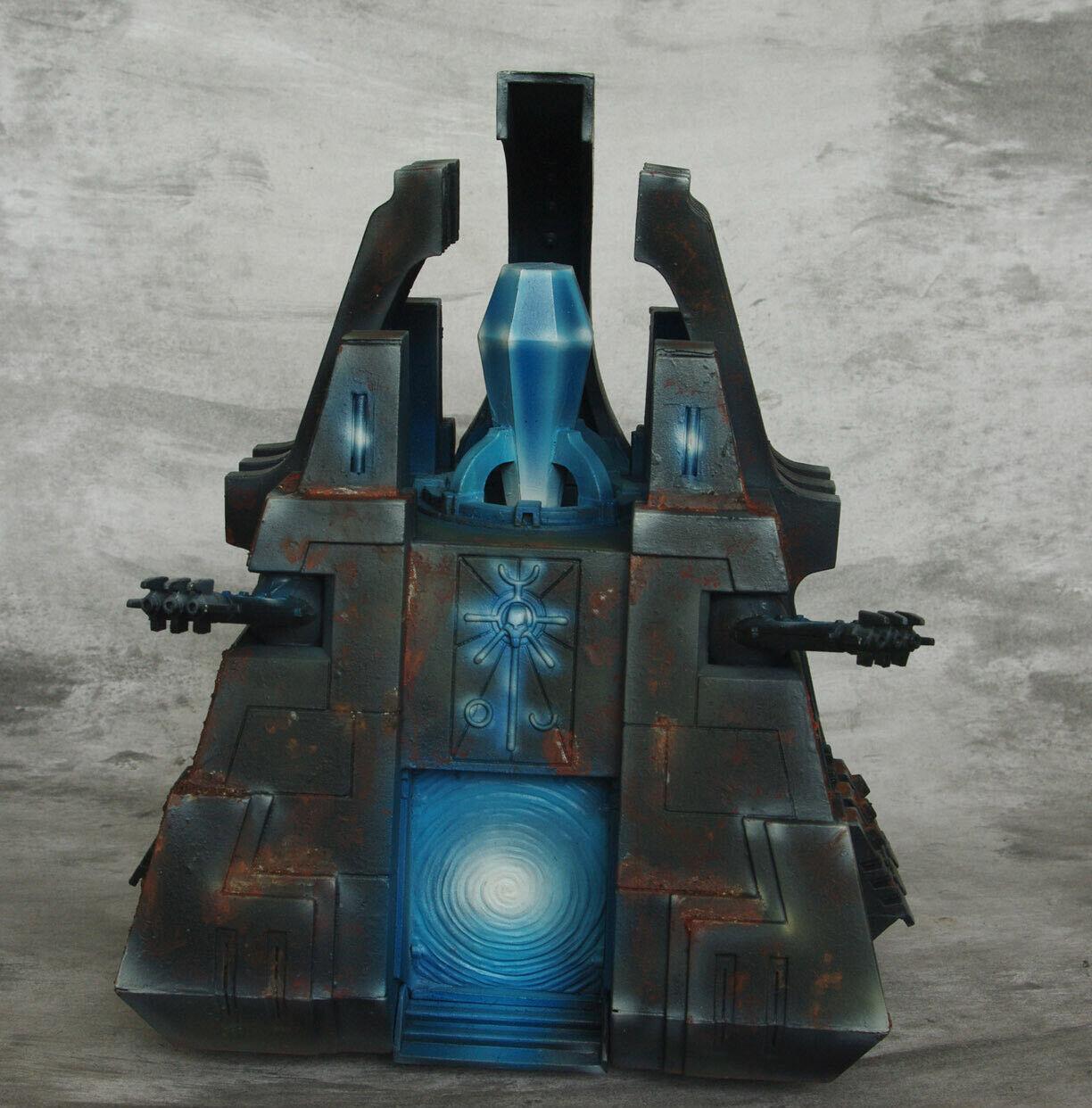 Necron monolito Pro Pintado oscuros WH40k 40k warhammer