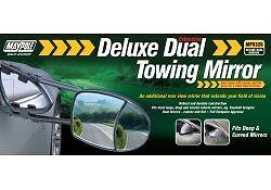 MAYPOLE-DUAL-GLASS-TOWING-MIRROR-AERO-CARAVANNING-etc