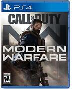 Call of Duty: Modern Warfare - PlayStation 4 NEW