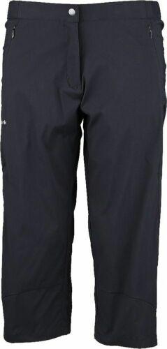 York Training und Freizeit Cara 3-L Fitnesscapri 3//4 Hose Damen schwarz