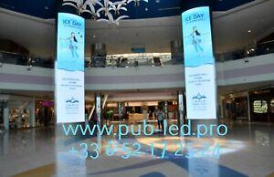 Enseigne Lumineuse LED Écran interne publicitaire P5 programmable