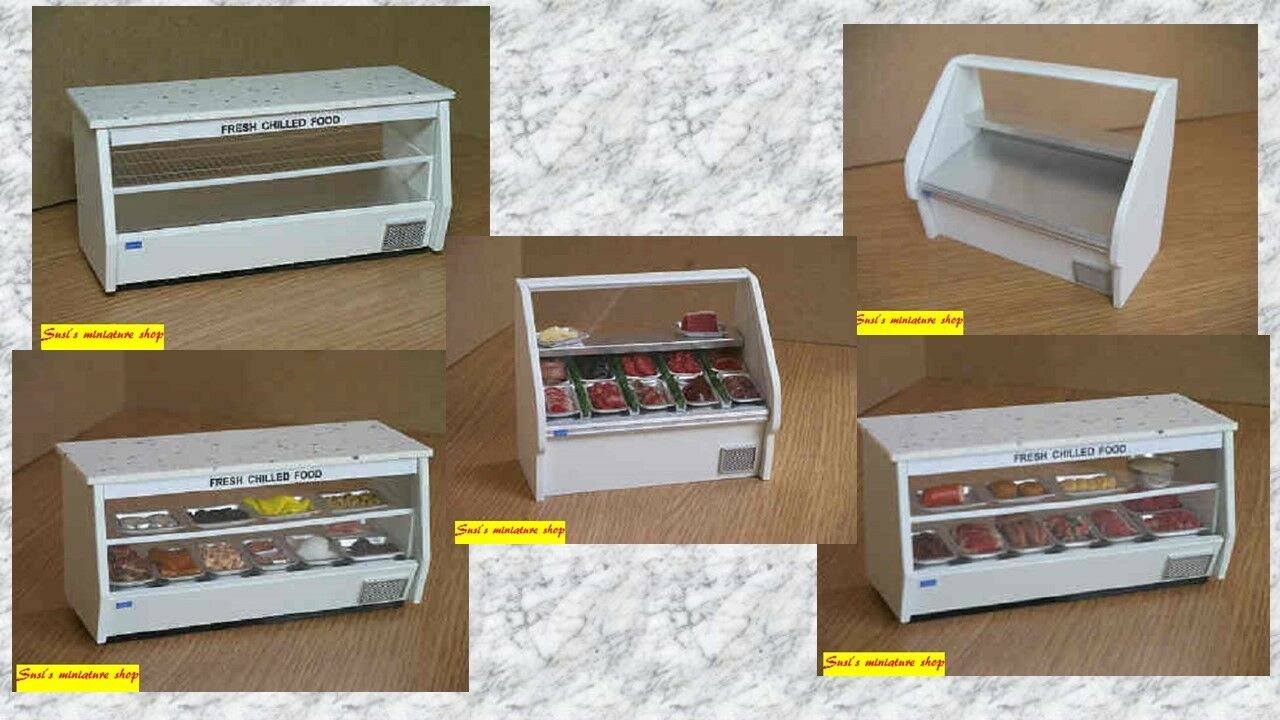 1 12 scale dolls house miniature handmade shop store equipment 5 to choose from