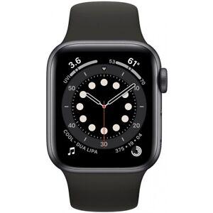 Apple Watch Series 6 Aluminium Space Grau 40mm GPS Bluetooth Smartwatch