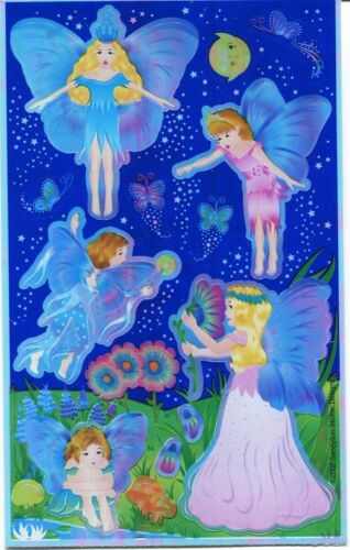 Sandylion Fairy Border Shiny Maxi Scrapbooking Stickers Retired Designs