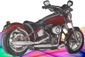 Wandschild-Eisen-Motorrad-antik-Vintage-Wand-Deko-Geschenk-erhaben-Gestanzt