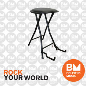 UXL-Guitar-Stool-with-Guitar-Stand-In-One-FGS-1-BNIB-BM