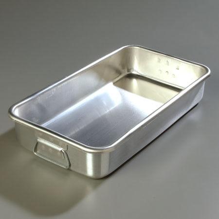 Vollrath Asado & Bake Pan Pesado Ga.. Aluminio. 10-7 8  X 19-3 4  X 3-5 8  de alto