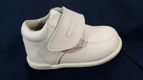 White NEW JOSMO Infant//Toddler Smart Step  Unisex Walking Shoes Leather  sale