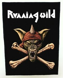 RUNNING-WILD-BACKPATCH-SPEED-THRASH-BLACK-DEATH-METAL
