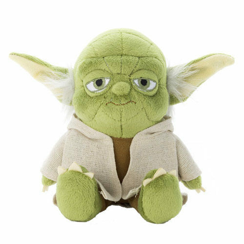 Tomy Arts Star Wars Beans Collection Yoda Stuffed Toy Sitting Height