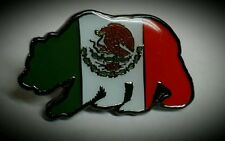 Lowrider Hat Chicano Mexicano Bear Biker Design Hat Button Badge Pin Metal