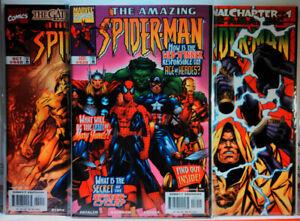 AMAZING-SPIDERMAN-439-440-441-SCARCE-FINAL-ISSUES-Avengers-MARVEL-Thor-HULK