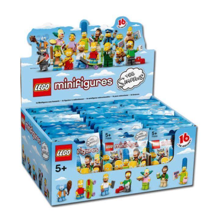 nouveau SEALED LEGO Box  Case 71005 of 60 MINIFIGURES SERIES S - Simpsons  jusqu'à 34% de réduction sur tous les produits
