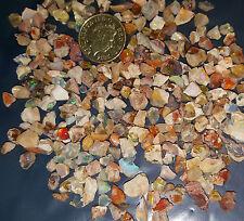 5 Real Fire Opal Chips Australian & Mexican Beautiful Fire Power Healing Chakra