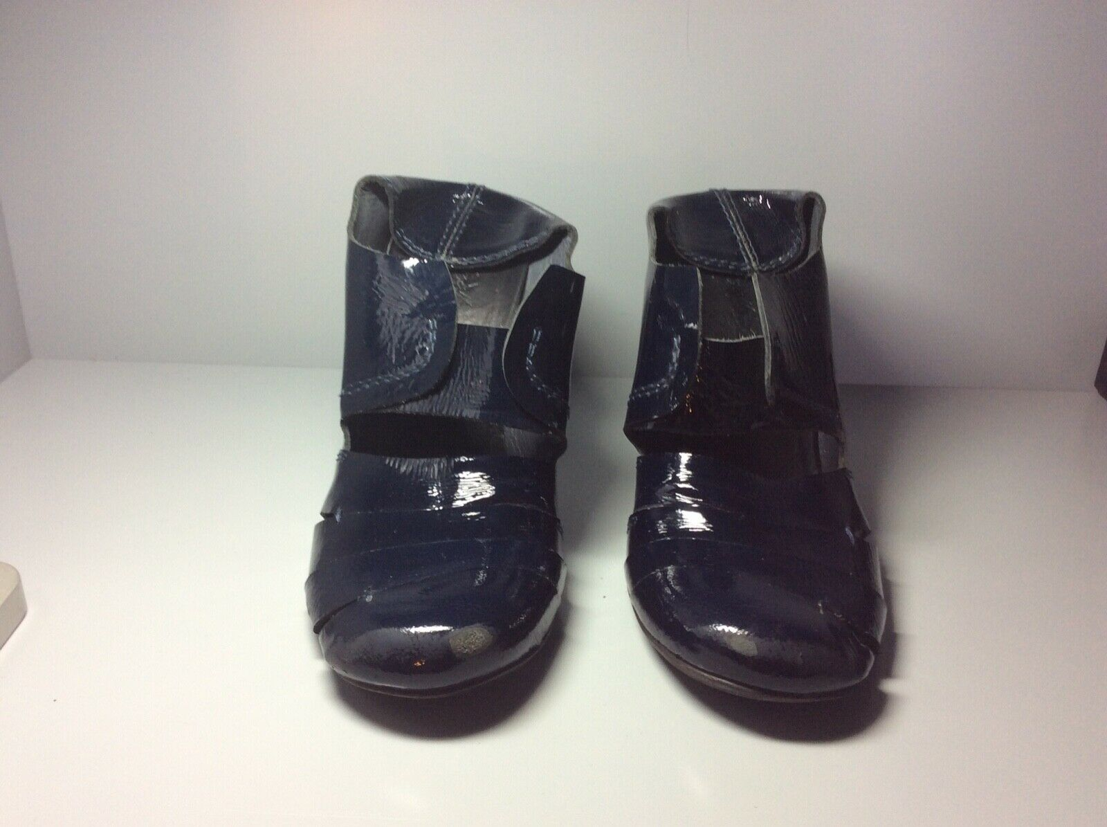 Women's dark bluee patent leather Marsèll shoes size 38