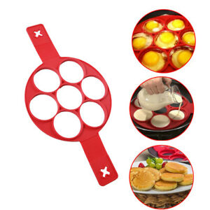 Silicone-Non-Stick-Flipper-Pancake-Pan-Perfect-Breakfast-Maker-Egg-Omelette-Tool