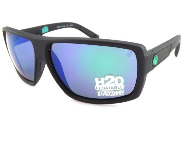 8b927267ba Dragon Double Dos Polarised Floating Matt H20   Green Mirror Sunglasses  720-2293