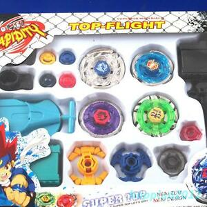 Beyblade 4D Fusion Top Metal Master Rapidity Fight Rare Launcher Grip Kids Gifts