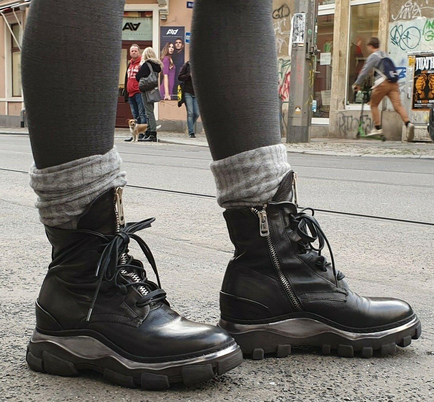 zu verkaufen Schuh A.S.98 Art.587207 Damen Echtleder Stiefel