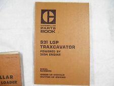 Cat Caterpillar 931 Traxcavator Parts Manual 10n526 Up