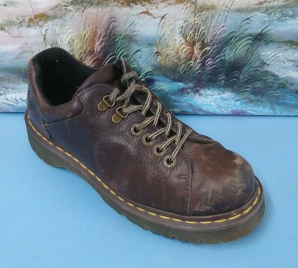 Dr. Martens 8312 Air Wair Non Slip Chunky Casual Oxfords US M 9 Brown