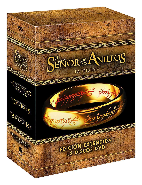 s l1600 - TRILOGIA El Señor De Los Anillos Extendida DVD  ESPAÑOL NUEVO CASTELLANO