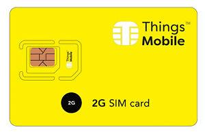 2019 Nouveau Style Sim Card 2g Con Copertura Globale E Rete Multi-operatore. Credito Non Incluso Handicap Structurel