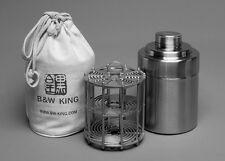 B&W KING 4X5' Format Stainless Steel Film Developing Tank (Install 10 film)