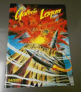 GALERIE LAQUA Catalog #? 2001 Original Comic & Strip Art DISNEY 26 pgs
