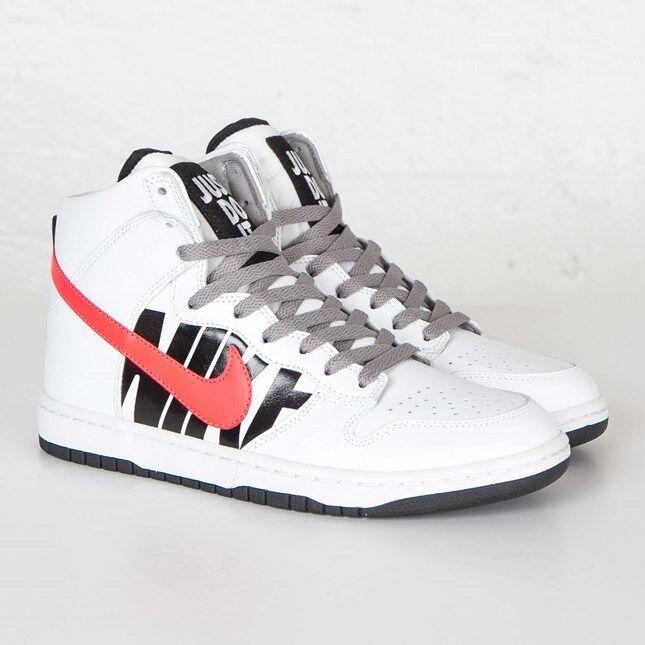 Nike dunk lux x ungeschlagen 826668-160 weiße weiße weiße / infrarot - männer größe 4,5 neue begrenzt 98994c