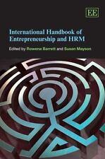 International Handbook of Entrepreneurship and HRM-ExLibrary