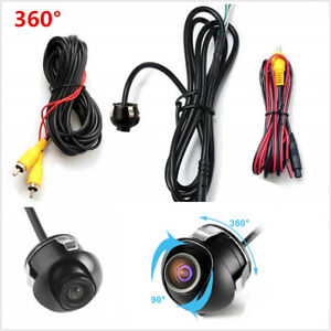 Car-Rear-Front-Side-View-Backup-Reversing-Camera-Waterproof-CCD-Night-Vision