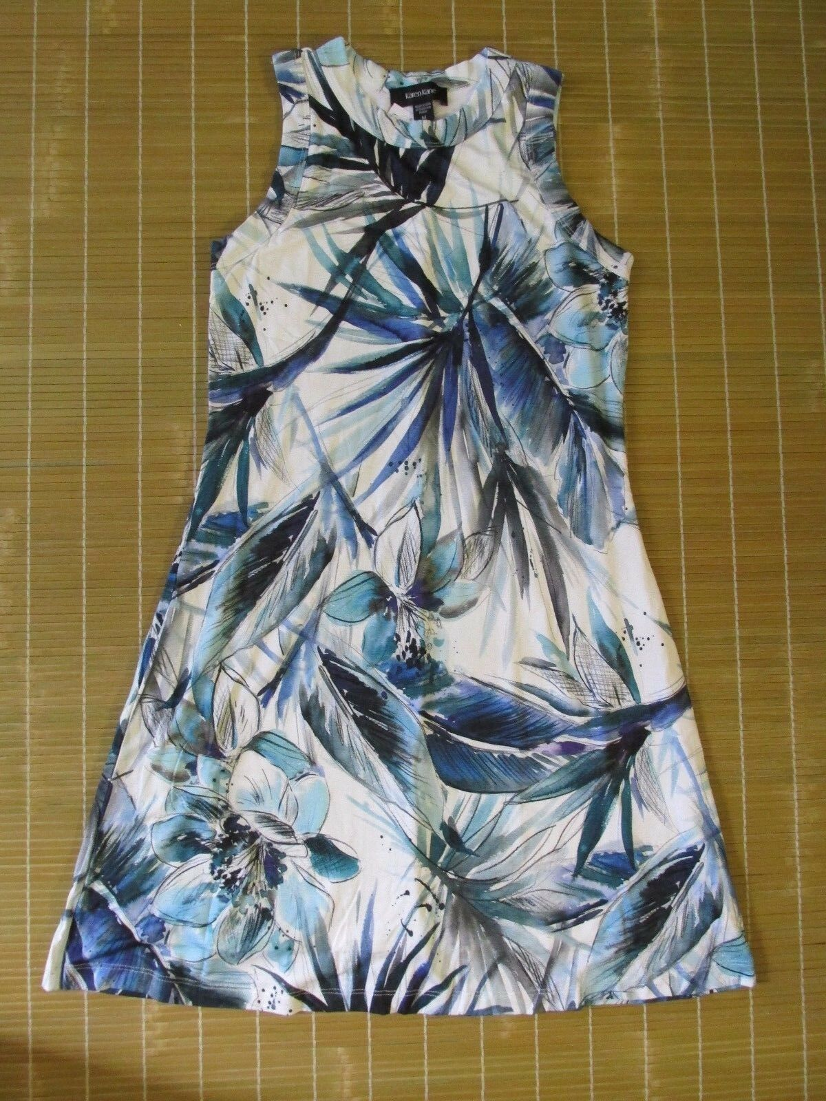 Karen Kane Tropical Halter Dress (Größe M)