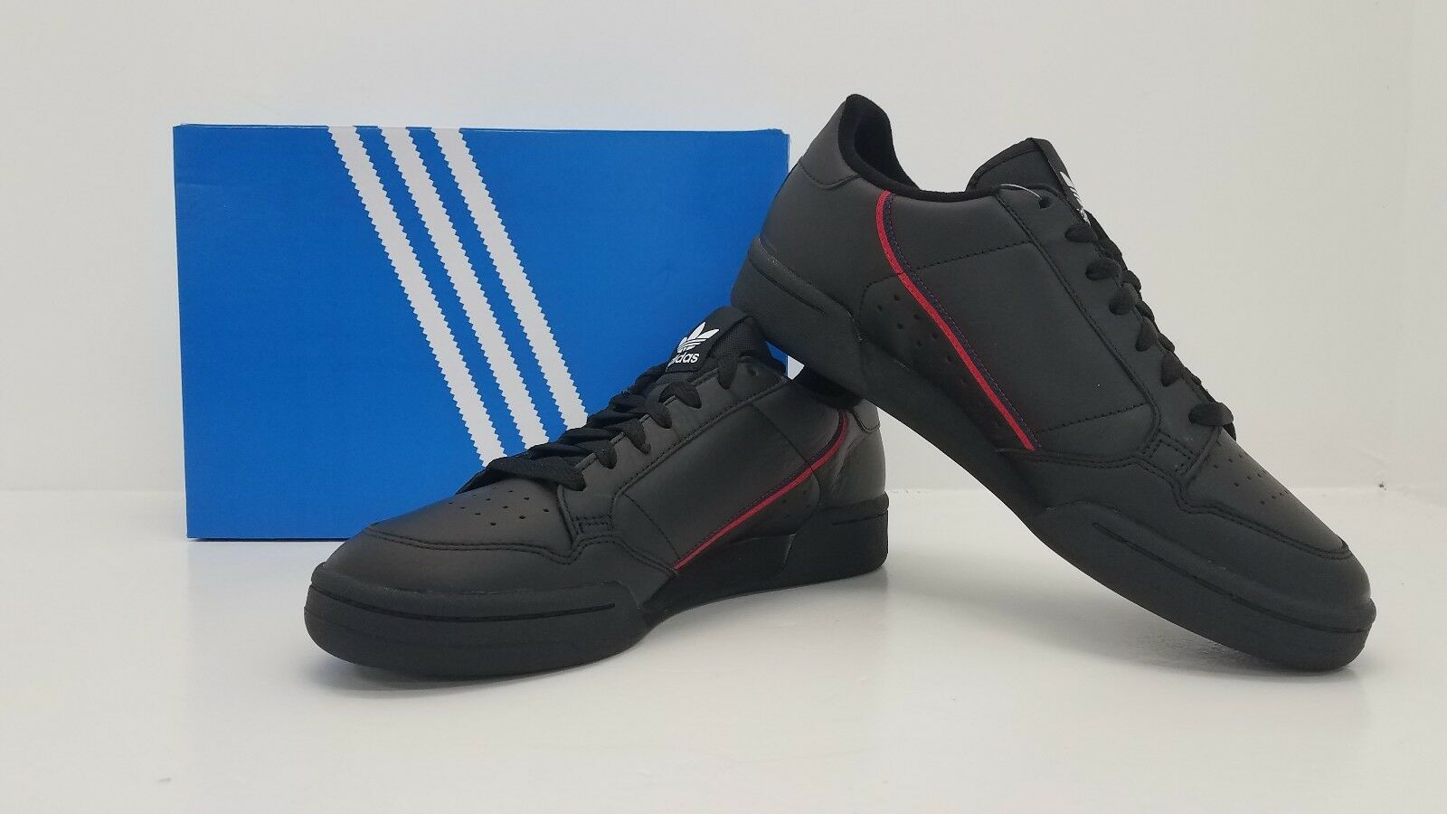 Adidas ORIGINALS MENS RASCAL CONTINENTAL 80 BLACK SCAR B41672 - BRAND NEW IN BOX