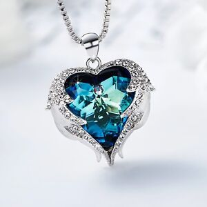 Best Luxury Lady S Necklace Forever Love Swarovski