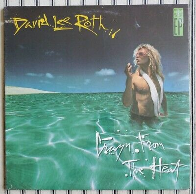 David Lee Roth Crazy From The Heat Ep Sealed Vinyl Record Ebay