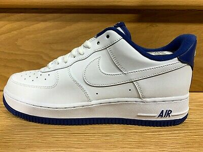 Nike Air Force 1 Low White Blue Royal Size 8 13 New CD0884 102 DS eBay  eBay